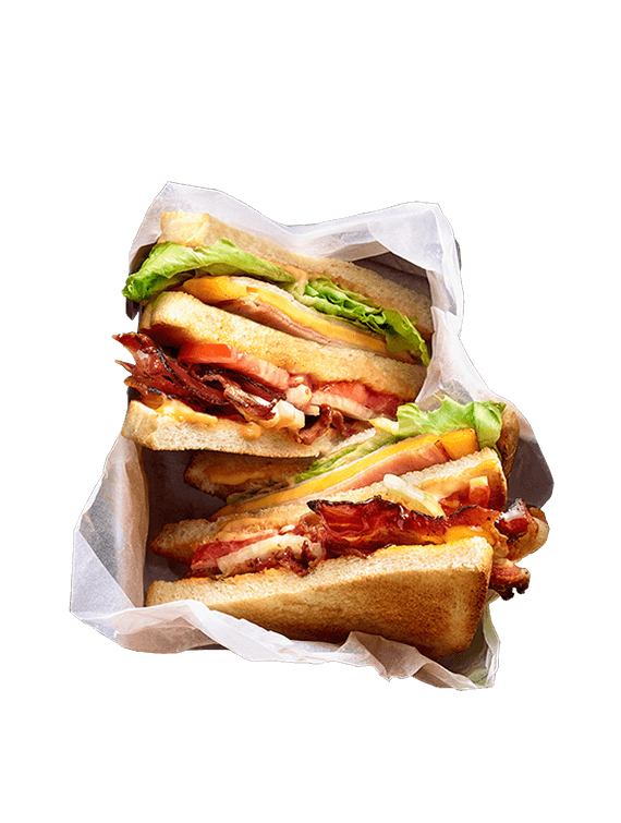 BURGERISTA Club Sandwich