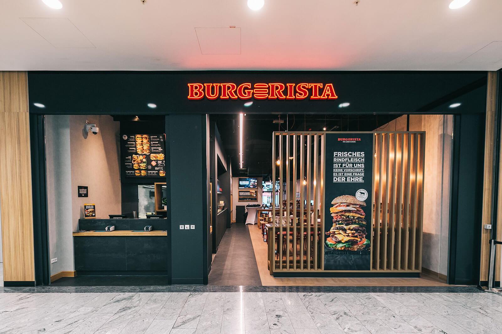 BURGERISTA Restaurant Wien Millennium City