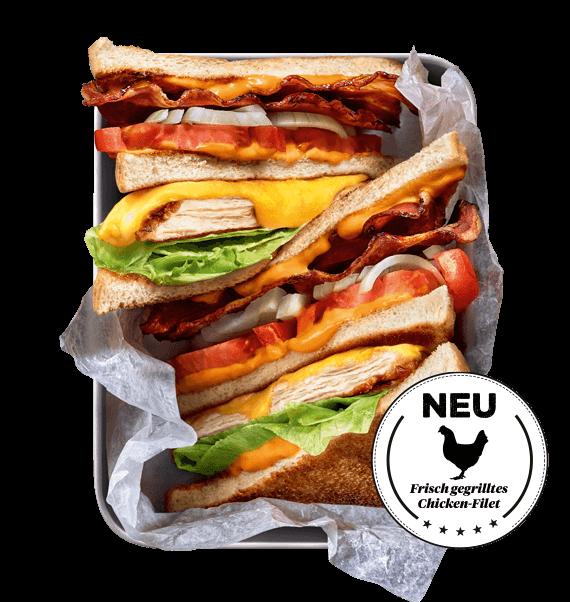 BURGERISTA Chicken Club Sandwich